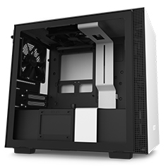 NZXT H210i Smart Mini-ITX Case Matte White/Black