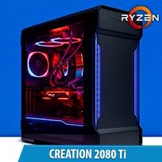 PCCG Creation 2080 Ti Gaming System