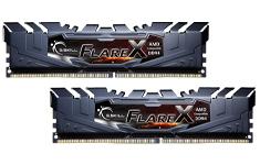 G.Skill Flare 16GB (2x8GB) 3200MHz CL16 DDR4