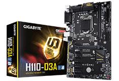Gigabyte H110 D3A Motherboard