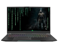Infinity S7 i7 GTX 1660 Ti 17.3in 144hz Gaming Laptop[S7-9G6-88]