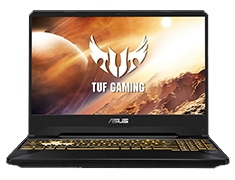 ASUS TUF AMD Ryzen 7 GeForce RTX 2060 15.6in 120Hz Gaming Laptop