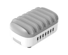 Orico 40W 5 Port USB Smart Charging Station White