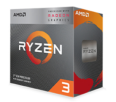 AMD Ryzen 3 3200G APU with Vega 8 Graphics