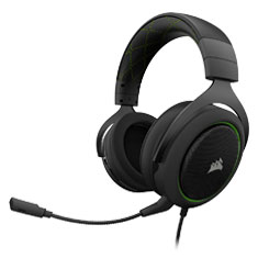 Corsair HS50 Stereo Gaming Headset Green