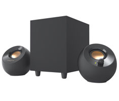 Creative Pebble Plus 2.1 Channel USB Speakers