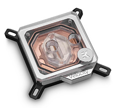 EK Velocity CPU Waterblock Copper Plexi