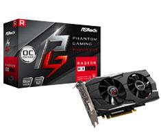 ASRock Phantom Gaming D Radeon RX 580 OC 8GB