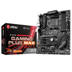 MSI X470 Gaming Plus Max Motherboard