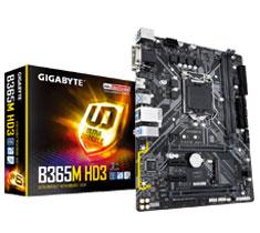 Gigabyte B365M-HD3 Motherboard