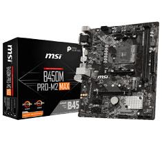 MSI B450M Pro M2 Max Motherboard
