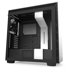 NZXT H710 Mid Tower Case Matte White/Black