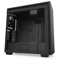 NZXT H710i Smart Mid Tower Case Matte Black/Black