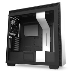 NZXT H710i Smart Mid Tower Case Matte White/Black