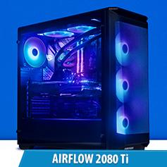 PCCG Airflow 2080 Ti Gaming System