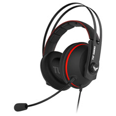 ASUS TUF H7 Virtual 7.1 Gaming Headset Red