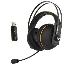 ASUS TUF H7 Wireless Gaming Headset Yellow