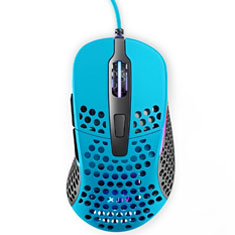 Xtrfy M4 Ultra-Light RGB Gaming Mouse Blue