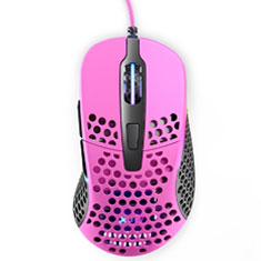 Xtrfy M4 Ultra-Light RGB Gaming Mouse Pink