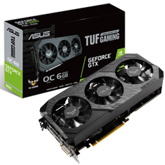 ASUS GeForce GTX 1660 TUF Gaming X3 OC 6GB