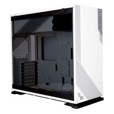 InWin 103 RGB Tempered Glass Case White