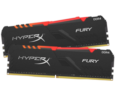 Kingston HyperX Fury RGB HX434C16FB3AK2/32 32GB (2x16GB) DDR4