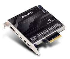 Gigabyte Titan Ridge Dual Thunderbolt 3 PCI-E Card