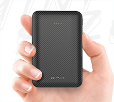 Xipin M1 10000mAh 5V2.1A Dual USB Compact Power Bank
