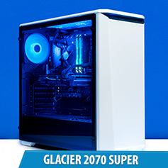 PCCG Glacier 2070 Super Gaming System