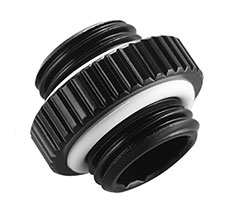 Phanteks Male to Male Adapter G1/4 Black