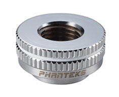 Phanteks G1/4 Premium Pass-Through Fitting Chrome