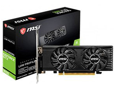 MSI GeForce GTX 1650 Low Profile 4GB