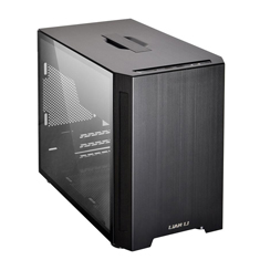 Lian Li PC-TU150 Mini ITX Tempered Glass Case Black