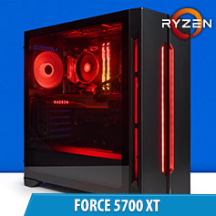 PCCG Force 5700 XT Gaming System