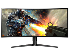 LG 34GK950F UWQHD 144Hz FreeSync HDR IPS Curved 34in Monitor