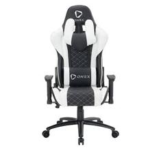 ONEX GX3 Gaming Chair Black White