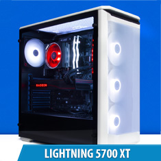 PCCG Lightning 5700 XT Gaming System