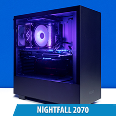 PCCG Nightfall 2070 Gaming System