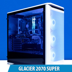 PCCG Glacier 2070 Super Gaming System 2