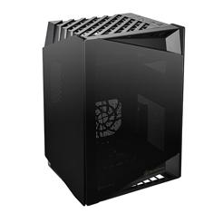 SilverStone Lucid LD03 TG Mini ITX Case Black