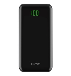 XiPin T23 10000mAh 5V2A Power Bank with LCD