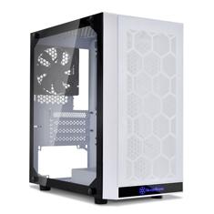 SilverStone Precision PS15 TG mATX Case White