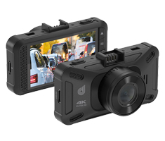 Dashmate DSH-1200 4K Dash Cam with 3in LCD Display