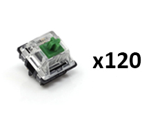 Glorious Gateron MX Switches Green