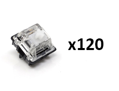Glorious Gateron MX Switches Clear