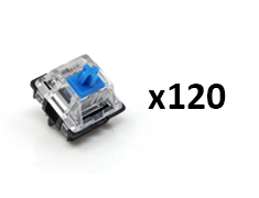 Glorious Gateron MX Switches Blue