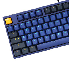 Ducky One 2 Horizon Blue TKL Mechanical Keyboard Cherry Brown