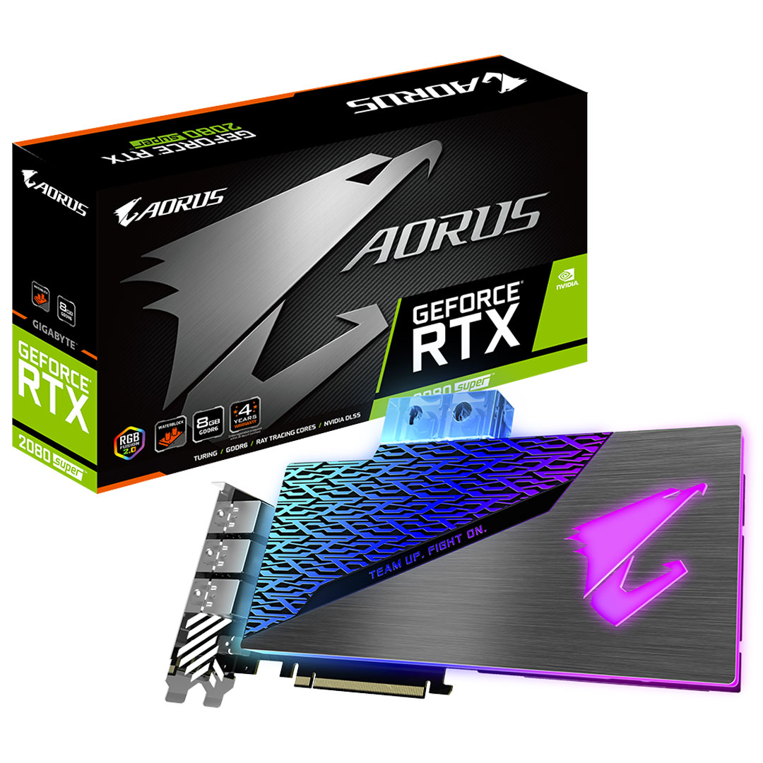 Gigabyte GeForce RTX 2080 Super Aorus Waterforce WB 8GB