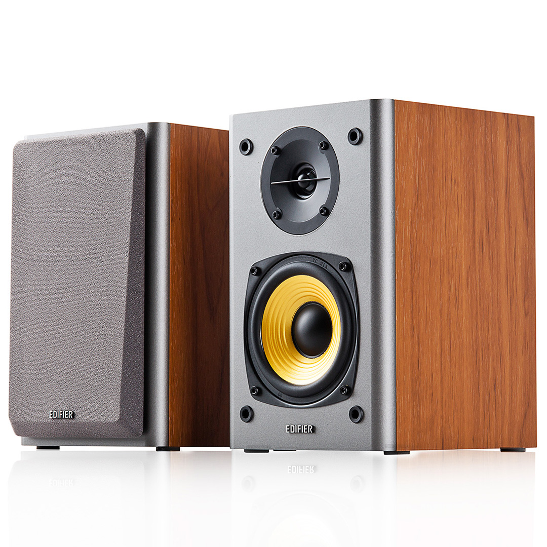 Edifier R1000T4 2.0 Bookshelf Speakers Brown