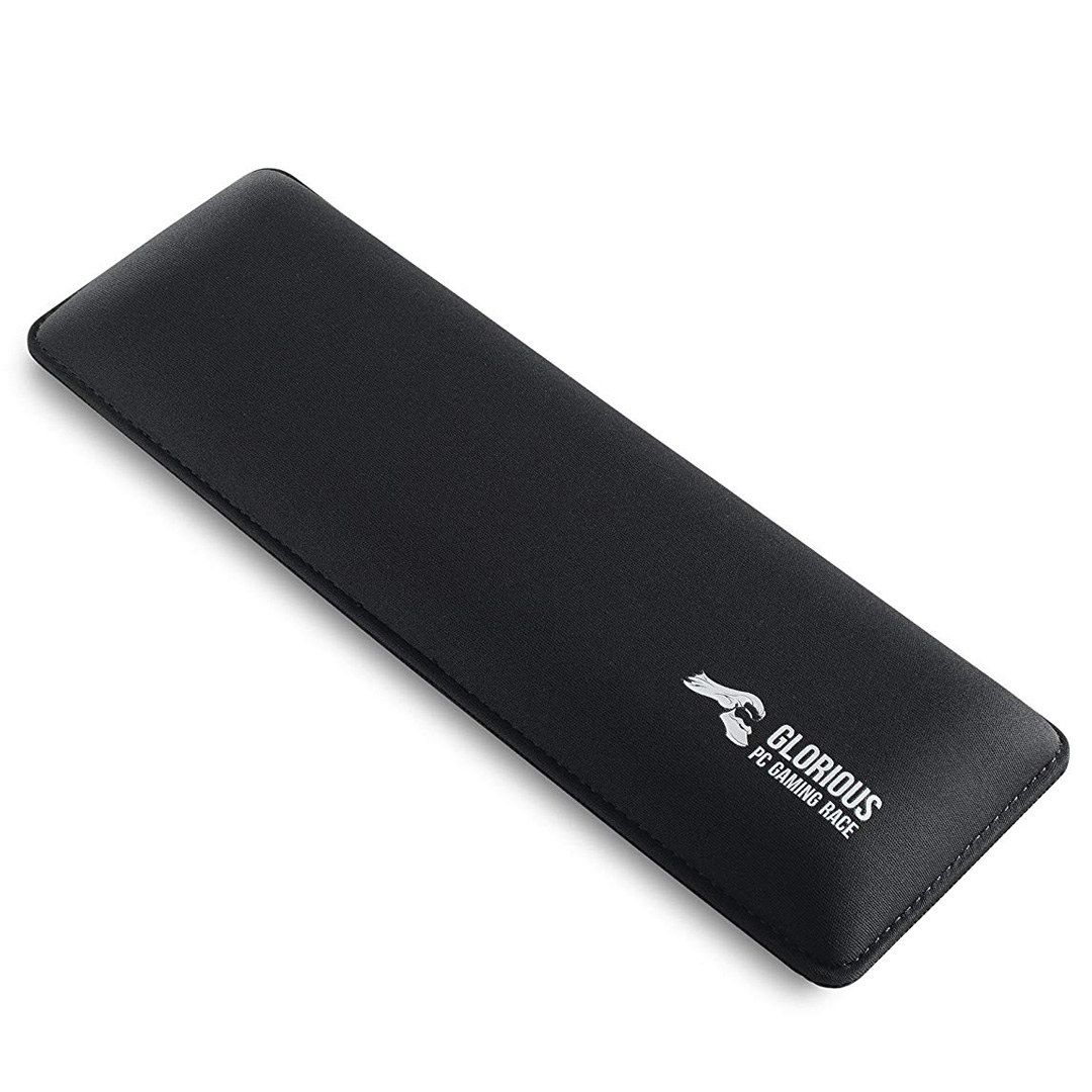 Glorious Padded Keyboard Wrist Rest 25mm Compact